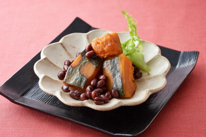 かぼちゃの小豆煮